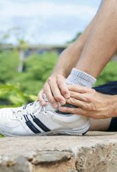 distorsione caviglia osteopatia