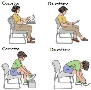 osteopatia postura seduto