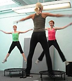 trampolino elastico osteopatia